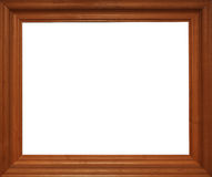 Photo of wood frame for a picture Royalty Free Stock Photos