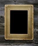 Photo on wooden background Stock Image