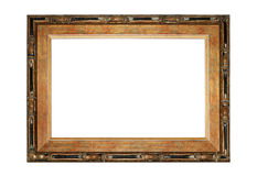 Photo of wooden frame in Asian style. Royalty Free Stock Photos