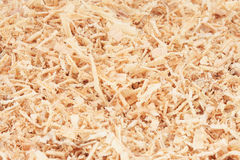 Photo of yellow sawdusts Stock Photos