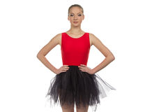 Photo of young ballerina Stock Photo