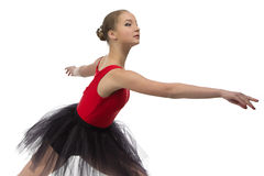 Photo of young ballerina Stock Photography