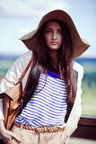 Photo of a young beautiful woman Royalty Free Stock Photos