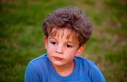 Photo of  young boy . Stock Image