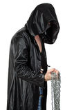 Photo of young man in profil with the chain Stock Photos