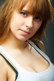 photo of young sensual woman Royalty Free Stock Photos