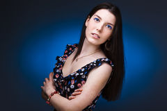 photo of young sensual woman Stock Photography