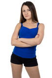 Photo of young sporty woman Stock Photography