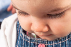 Photo of a young toddler Stock Image