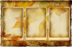 Photoalbum d'automne Image stock