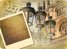 Photoalbum de la vendimia fotografía de archivo
