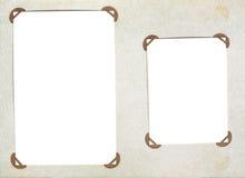 Photoalbum dell'annata con i blocchi per grafici della foto Immagine Stock Libera da Diritti