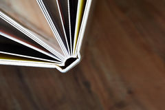 Photobook con una cubierta de la piel sintética Imagen de archivo libre de regalías