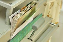 Photobook, das durch Fachmann für die Heirat, Familie oder travelli macht Lizenzfreie Stockbilder