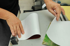 Photobook making by professional for wedding ,family or travelli Stock Photos