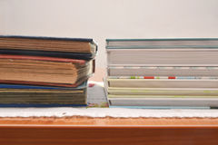 Photobooks和老册页 免版税库存图片