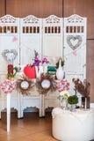 Photobooth décoré image stock