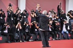 Photocall - di Venezia de 68° Mostra del Cinema, setembro - Itália imagens de stock royalty free