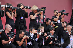 Photocall - di Venezia de 68° Mostra del Cinema, setembro - Itália Fotos de Stock Royalty Free