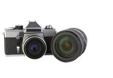 Photocamera Stock Afbeelding