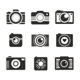 Photocamera Collection Royalty Free Stock Photos