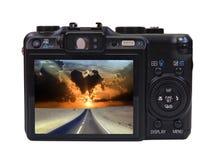 Photocamera di Digitahi Fotografia Stock Libera da Diritti