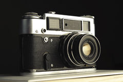 Photocamera velho Fotografia de Stock Royalty Free