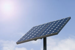 Photocell board. Alternative energy sources - photocell board Stock Photos