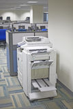 Photocopier. Machine on an office floor Royalty Free Stock Photo