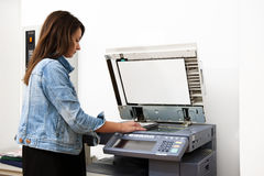 Photocopier Royalty Free Stock Photos