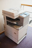 Photocopier detail indoors. The capture of a photocopier in a working space Royalty Free Stock Image