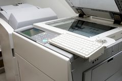 Photocopier scanner Royalty Free Stock Photography