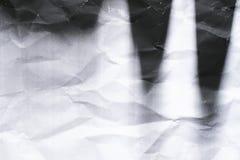 Photocopy crumpled texture background. Close up Stock Photos