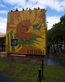 Photodeck al quadrato del museo Immagine Stock