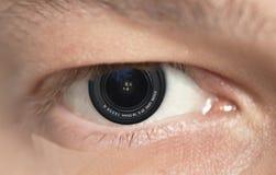 Photoeye Stockfoto