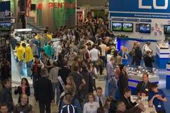 Photoforum 2008 em Moscovo Fotografia de Stock Royalty Free