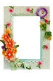 Photoframe. On a white background Royalty Free Stock Photos