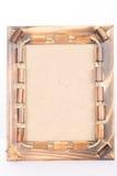Photoframe de bambú Foto de archivo libre de regalías