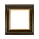 Photoframe de madeira velho Fotos de Stock Royalty Free