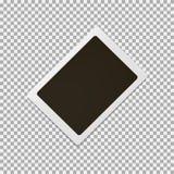 Photoframe en fondo gris Ilustración del vector libre illustration