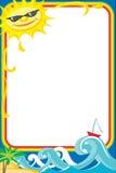photoframe morze Zdjęcia Royalty Free