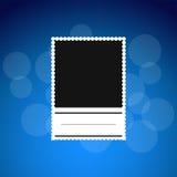 Photoframe nero Immagine Stock