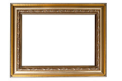 Photoframe. On a white background Stock Photos