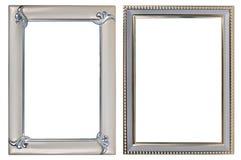 2 photoframes металла Стоковое Изображение RF