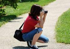 Photogirl imagenes de archivo