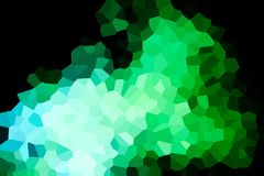 A photograph of an abstract geometric pattern royalty free illustration