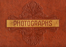 Photograph Album Cover Royalty Free Stock Photos