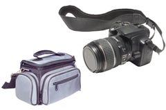 Photograph Bag And Camera