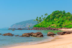 Photograph of a beautiful tropical beach Royalty Free Stock Images