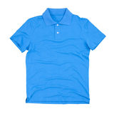 Photograph of blank polo shirt Stock Photo
